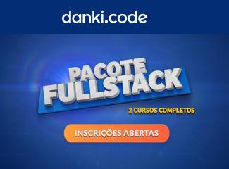 Curso Full Stack da Danki Code